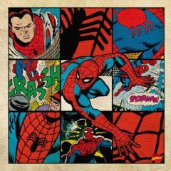 スパイダーマン アートパネル MARVEL Spider Man Mサイズ 30cm×30cm lib-4121939s1  /NP 後払い/北欧/インテリア/セール/モダン/送料無