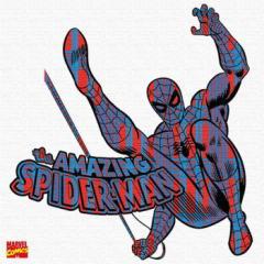 スパイダーマン アートパネル MARVEL Spider Man Mサイズ 30cm×30cm lib-4121946s1  /NP 後払い/北欧/インテリア/セール/モダン/送料無