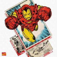 アイアンマン アートパネル MARVEL Iron Man Mサイズ 30cm×30cm lib-4121948s1  /NP 後払い/北欧/インテリア/セール/モダン/送料無料/激