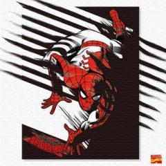 スパイダーマン キャンバスアート アートパネル MARVEL Spider Man Mサイズ 30cm×30cm lib-4121950s1  /NP 後払い/北欧/インテリア/セー