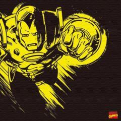 アイアンマン キャンバスアート アートパネル MARVEL Iron Man Mサイズ 30cm×30cm lib-4121955s1  /NP 後払い/北欧/インテリア/セール/