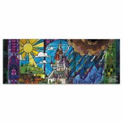 美女と野獣 ウォールデコ ディズニー dsny-w-1701-07 ワイドサイズ アートパネル アートデリ ワイドサイズ 30cm×78.5cm lib-5364990s1