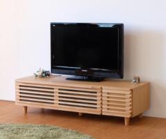 TVボード 幅124cm BLADE-2 124 TV NA ise-3444146s1  /NP 後払い/北欧/インテリア/セール/モダン/送料無料/激安/  テレビ台/ハイタイプ/