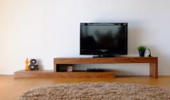 テレビボード 幅160cm ミディアムブラウン PILE TV BOARD 160 WALNUT ise-4730870s1  /NP 後払い/北欧/インテリア/セール/モダン/送料無