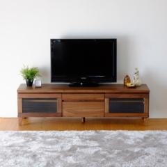 TVボード 幅150cm ミディアムブラウン FLOCK-2 TV 150 WALNUT ise-4740121s1  /NP 後払い/北欧/インテリア/セール/モダン/送料無料/激安/