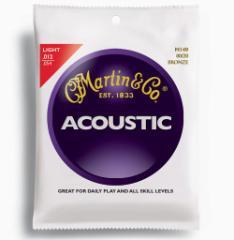 【即日発送O.K】MARTIN マーティン アコースティックギター弦 M140/Light (.012〜.054) 【郵送対応商品】【z8】