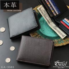 折り財布 財布 メンズ L字ファスナー ブランド ウォレット ショートウォレット 二つ折り ガジル GAZIL【GA-3503】