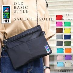 サコッシュバッグ ショルダーバッグ SACOCHE Robic-air OLD BASIC カラフル 軽量 アウトドア MEI メイ 【MEI-180009】 mlb