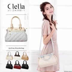 ショルダーバッグ レディース ハンドバッグ キルティング コンパクト 小さい かわいい バッグ 鞄 Clelia クレリア【CL-24396-1】