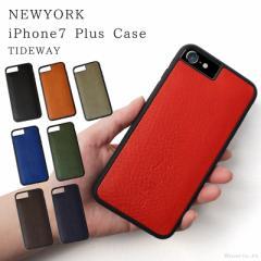 スマホケース メンズ レディース イタリアンレザーを贅沢に使用した本革iphoneケース iphone7plus TIDEWAY (8色)【T2172】