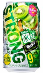 キリン 氷結ストロング キウイ 350ml缶 バラ 1本【限定】