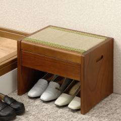 【送料無料!ポイント2%】国産 畳みベンチ ベットサイドや仏前椅子などに使える畳ベンチ。玄関ベンチとしても使用可能です!