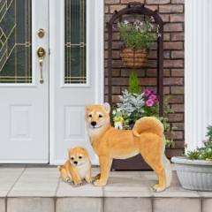 【送料無料!ポイント2%】本物そっくりアニマル 柴犬  思わず本物と思ってしまう程のリアルな柴犬♪