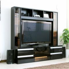 【送料無料!ポイント2%】ハイタイプ 鏡面 50インチ対応 TV台 ゲート型 150cm幅 FS-15150  使うお部屋を選ばないシンプルなデザイン!