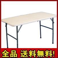 【送料無料!ポイント2%】折りたたみテーブル 120cm テーブル フリーテーブル 折り畳みテーブル 作業台 デスク 机