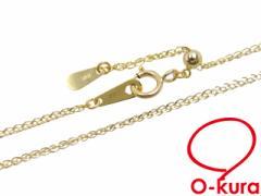ネックレス ゴールド チェーン K18YG 45cm レディース 【新品】 ミサンガ ムーブメントアジャスター 1.500g イエローゴールド ネックレス