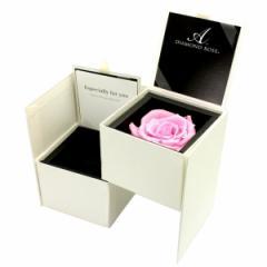 セール リング 指輪 ケース 箱 ジュエリー ボックス BOX ダイヤモンド ローズ プリザーブドフラワー 付き 1233-11 送料無料