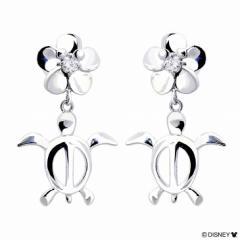 ハワイアンジュエリー Disney ディズニー コレクション ホヌ ピアス LARA Christie ララクリスティー le58-0002 クリスマス