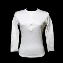 Y-3 ワイスリー「XS」ヘンリーネックTシャツ (白 ライン adidas アディダス 山本耀司 Yohji Yamamoto ヨウジヤマモト Ys ワイズ) 115899