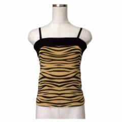 美品 PINKY&DIANNE ピンキーアンドダイアン レオパードチューブトップ (キャミソール Tシャツ 半袖豹柄) 115954