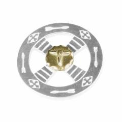 TADY&KING タディ&キング ゴローズ 魂継承 ネイティブ ホイールSV GPロング カスタム用パーツ メンズ レディース ペンダント トップ