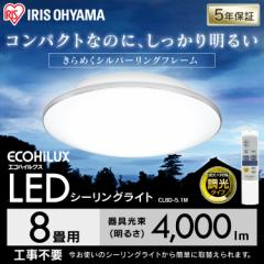 シーリングライト 8畳 調光 メタルサーキット モールフレーム 照明器具 天井照明  LED CL8D-5.1M アイリスオーヤマ 送料無料