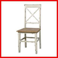 ダイニングチェア アンティーク調 椅子 ブロッサム COL-019[プラザセレクト] 送料無料