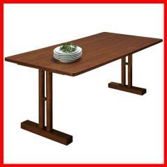 テーブル 机 ルッカ ダイニングテーブル CL-63TBR ブラウン[プラザセレクト] 送料無料