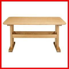 テーブル 机 デリカ ダイニングテーブル HOT-456NA ナチュラル[プラザセレクト] 送料無料