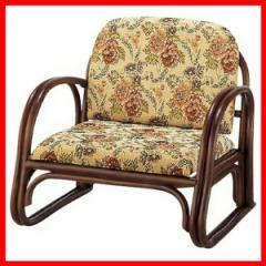 楽々座椅子  RZ-739L 萩原 (代引不可) プラザセレクト 送料無料