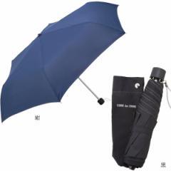 傘 雨具 紳士折たたみ傘 コムデコム 55cm耐風傘ミニ