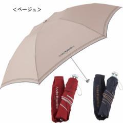 アンドレ バレンチノ 軽量大判ミニ傘折りたたみ傘/AV606M−BE