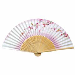 扇子 きらびき華 しだれ桜名入れ 手作り/