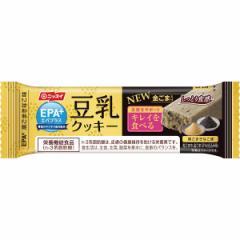 エパプラス 豆乳クッキー黒ごまきなこ味 12本/