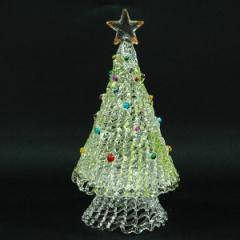 クリスマス ツリー 飾り スパンツリー Gree L インテリア ガラス
