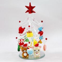 リラックマ ガラスツリー  CLEAR クリスマス プレゼント 雑貨