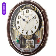 からくり時計 スモールワールド メロディ電波からくり掛時計 48曲入 掛時計