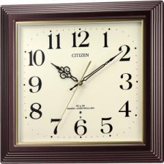 角型時計 シチズン 電波掛時計 電波時計 電波 掛時計 時計