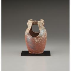 7号花瓶 手桶窯肌 信楽焼 インテリア 和 置物 贈り物に最適