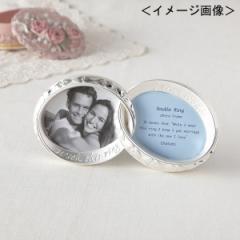 結婚祝い おしゃれ 写真立て リングフォトフレーム 2窓結婚祝い ギフト 贈り物に最適