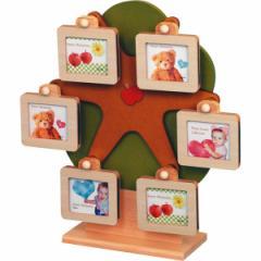 写真立てオルゴール付回転フレーム出産祝い 贈り物 記念 贈り物に最適