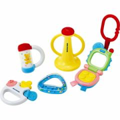 玩具 ミキハウス ベビートイセット/46-1234-958