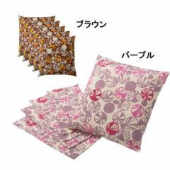 座布団カバー5枚セット(マリ) のんはん インテリア 寝具
