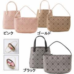 かばんバッグインポーチ&ミニトート クレアトラベラー レディースファッション 小物