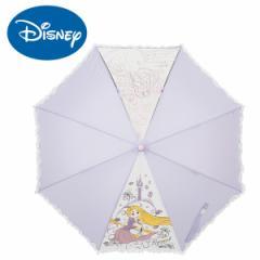 傘 キッズ 雨傘 50ラプンツェルディズニー キャラクター ジャンプ式