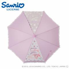 傘 キッズ 雨傘 50ぼんぼんりぼんディズニー キャラクター ジャンプ式