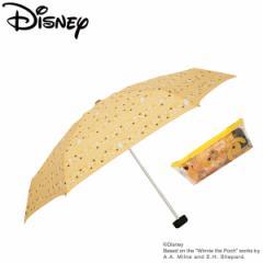傘 レディース 雨傘 47プーさんディズニー キャラクター 手動式
