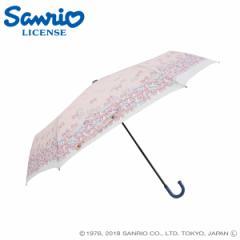 傘 レディース 雨傘 55マイメロディ いっぱいリボンディズニー キャラクター 手動式
