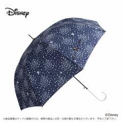 傘 レディース 雨傘 60ドナルドダック 星2ディズニー キャラクター ジャンプ式