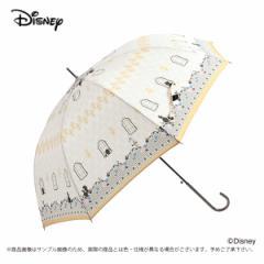 傘 レディース 雨傘 60美女と野獣 ダンスディズニー キャラクター ジャンプ式